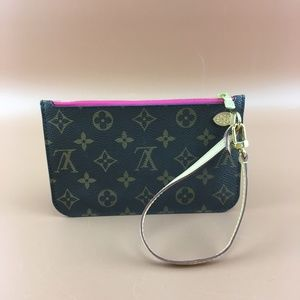 Preowned Louis Vuitton Neverfull Pochette For PM